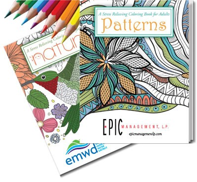 Adult Coloring Books  - On Target